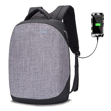 70a7261641 Srotek Sac à Dos Antivol Impémeable Léger Loisir Sac à Dos pour Ordinateur  Portable avec USB