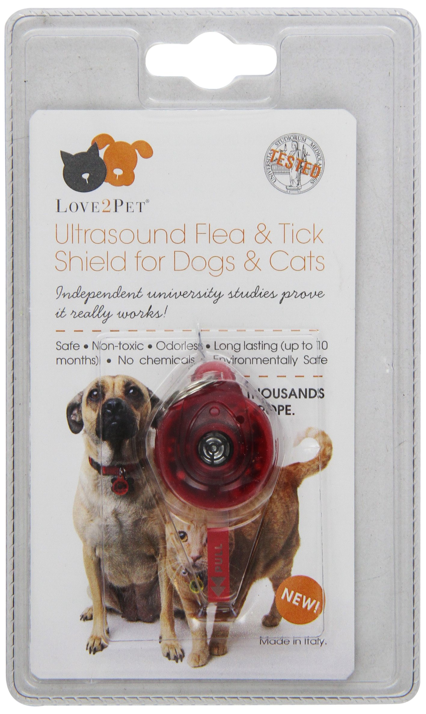LOVE2PET® Ultrasonic Flea and Tick Shield