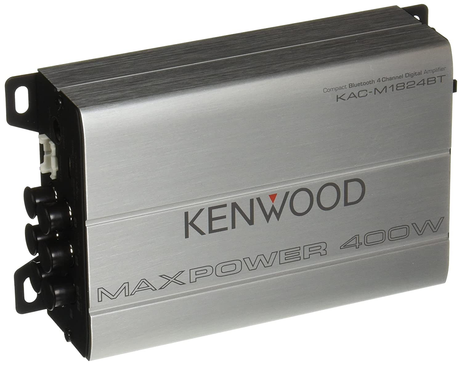 Kenwood Compact Bluetooth Automotive/Marine Amplifier