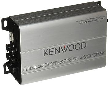 Kenwood kac-m1824bt deporte serie amplificador de 4 canales con Bluetooth para ATV, UTV