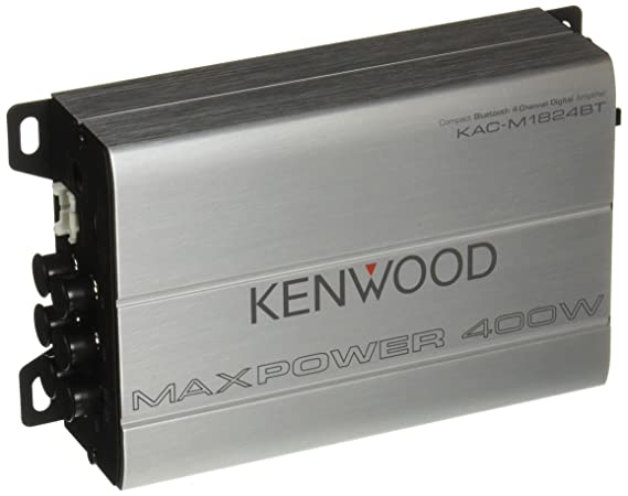 Kenwood 1177524 Compact Automotive Marine Amplifier Cld Kac M1824bt 180w Rms