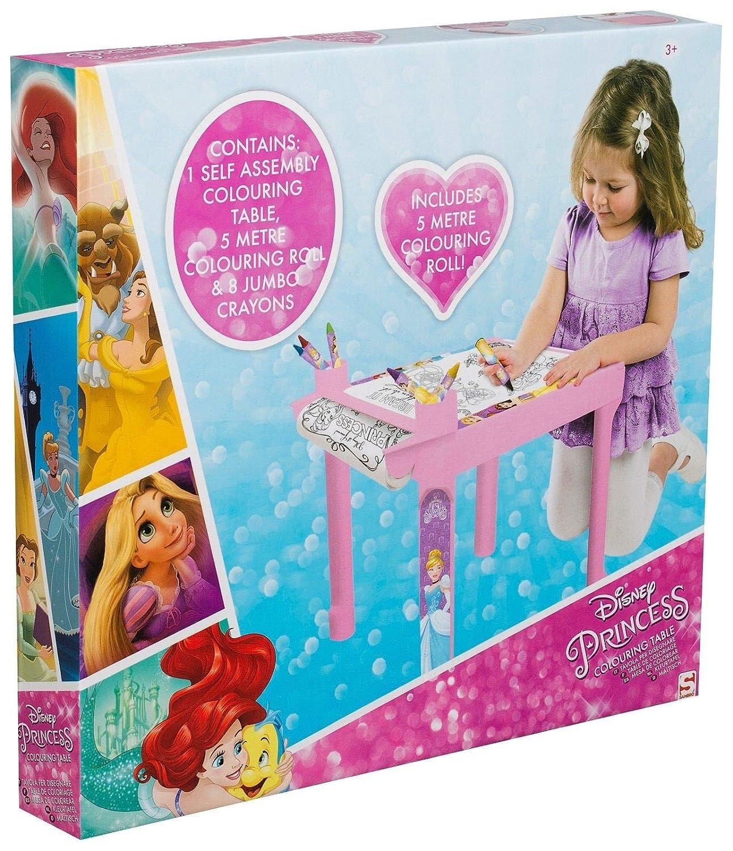 Coloriage Table Princesse.Disney Sambro Princesse Table De Coloriage Amazon Fr Jeux Et Jouets