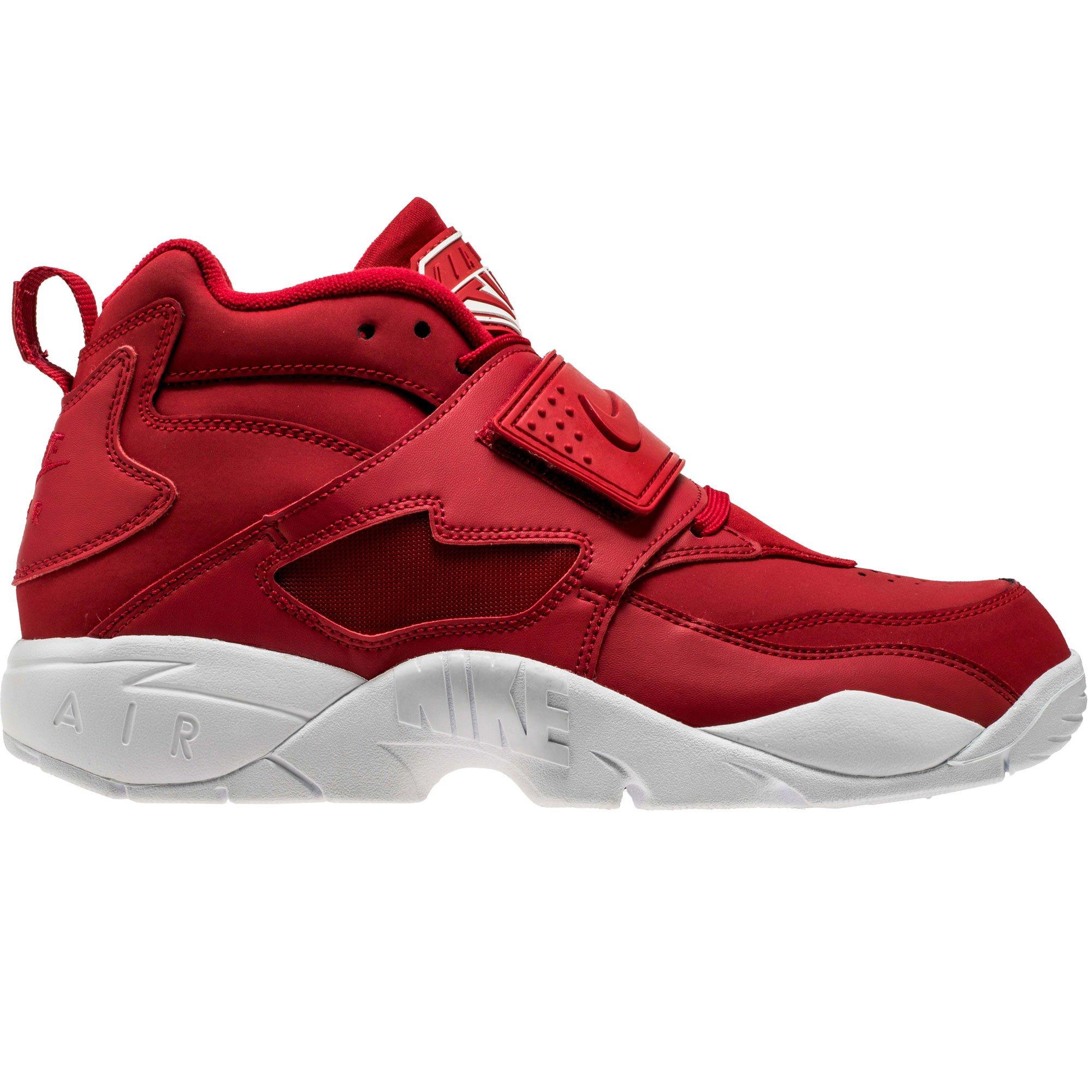 Nike Men's Air Diamond Turf Red/White 309434-600 (Size: 8) by Nike (Image #1)