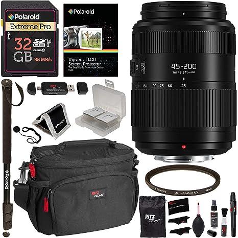 Panasonic Lumix G II Vario Lens 45-200mm F4.0-5.6 (H-FSA45200 ...