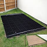 4ft x 3ft Shed Base Kit includes Weed Fabric and 12 x TruePave Plastic Paving Grids Slabs