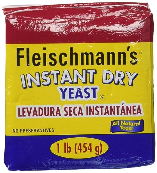 Levadura instantánea de Fleischmann – 2 unidades/cada 16 ...
