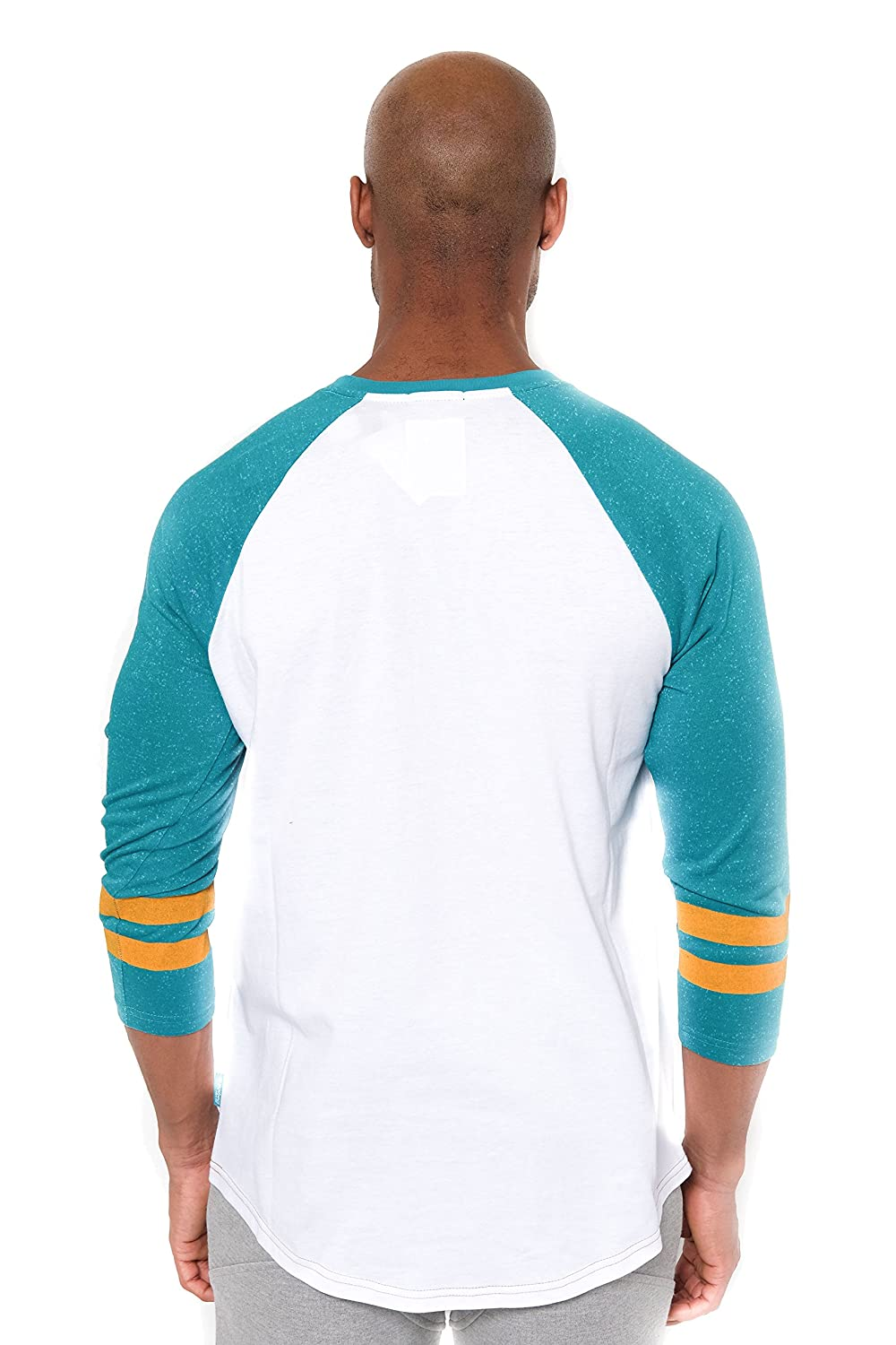Ultra Game Mens T Raglan Baseball 3//4 Long Sleeve Tee Shirt