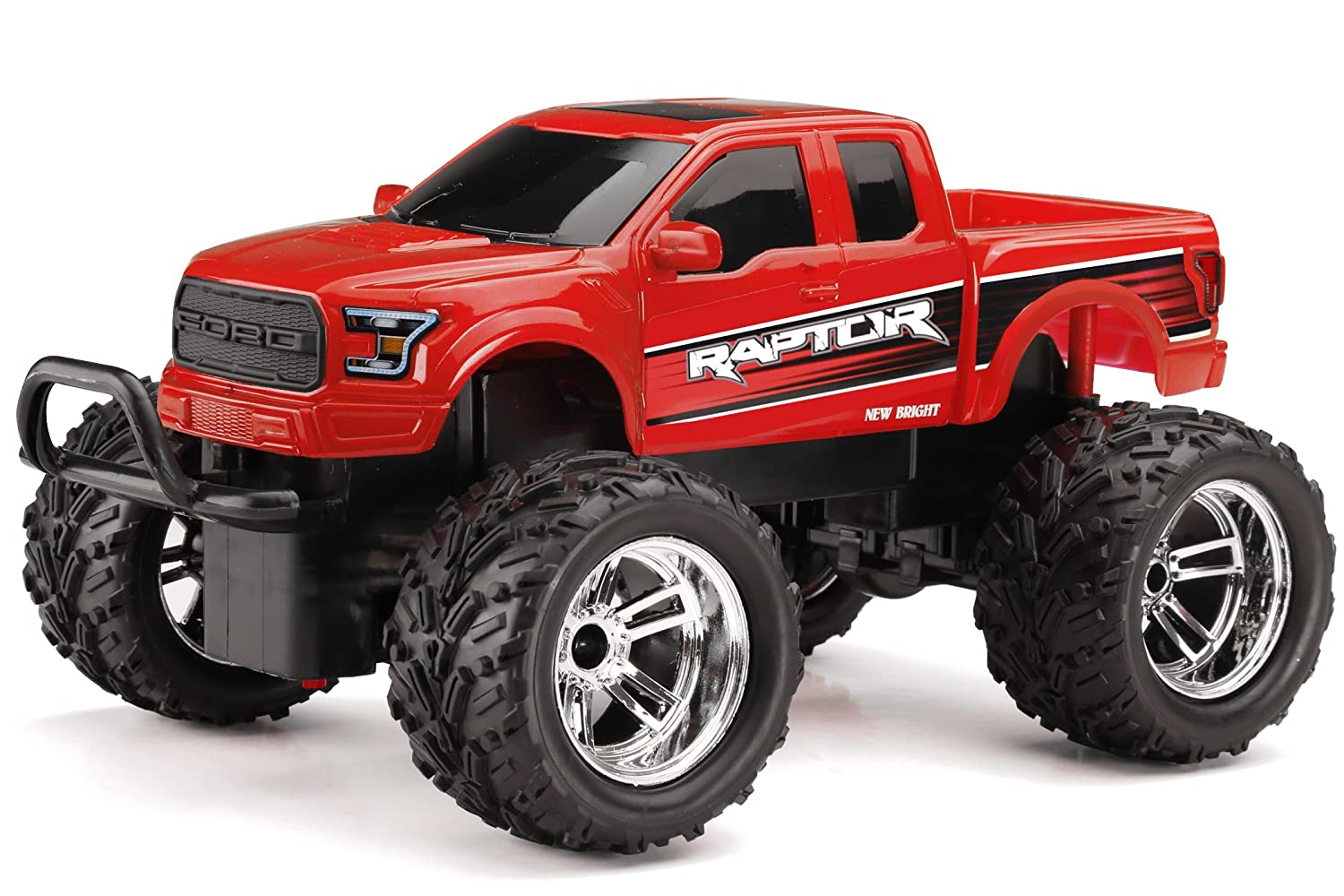 Amazon new bright chargers ff ford raptor rc vehicle 118 amazon new bright chargers ff ford raptor rc vehicle 118 scale red toys games voltagebd Images