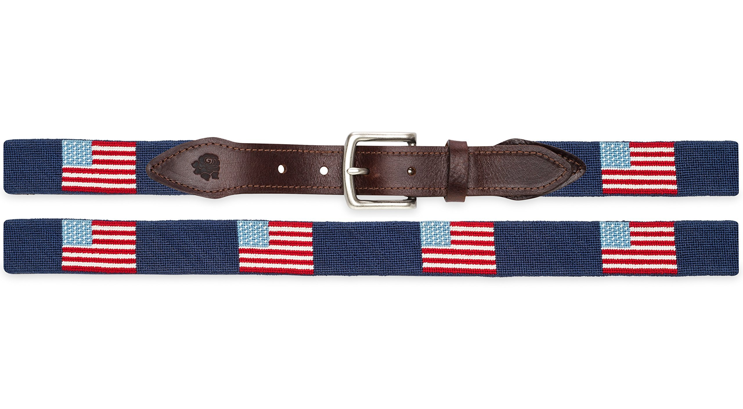 American Flag on Navy by Good Threads