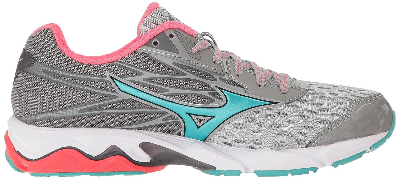 Mizuno Women's Wave Catalyst 2 Running Shoe B01H3EG5VI 9.5 B(M) US|Grey/Mint