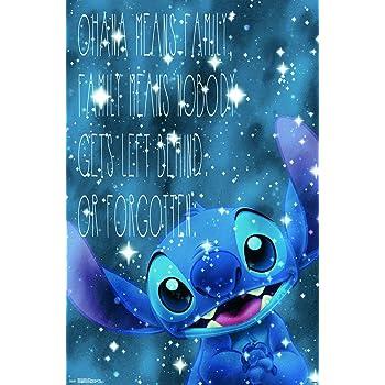 Amazon Com Trends International Lilo Amp Stitch Hi Wall
