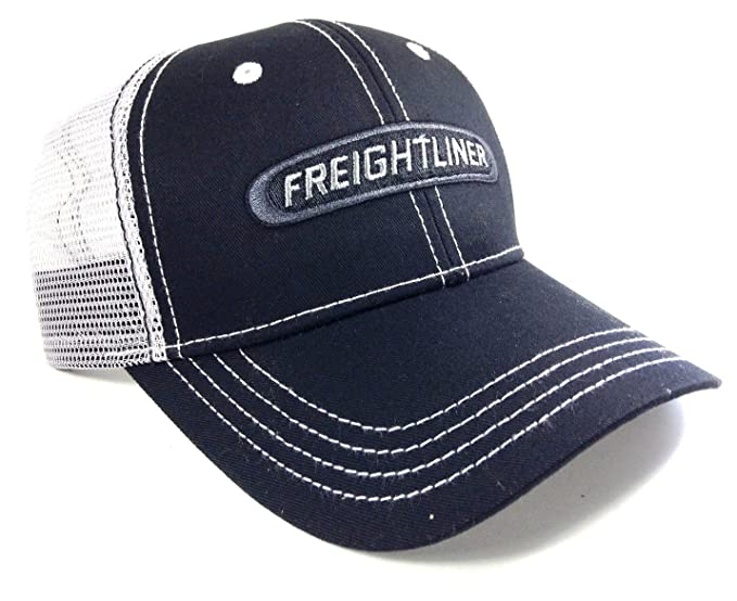 dbe733f6 Image Unavailable. Image not available for. Colour: Freightliner Trucks  Black & Grey Mesh Trucker Snapback