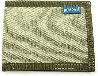 product image for Hempy's Hemp Bi-fold Slim Line Wallet - Green - One Size