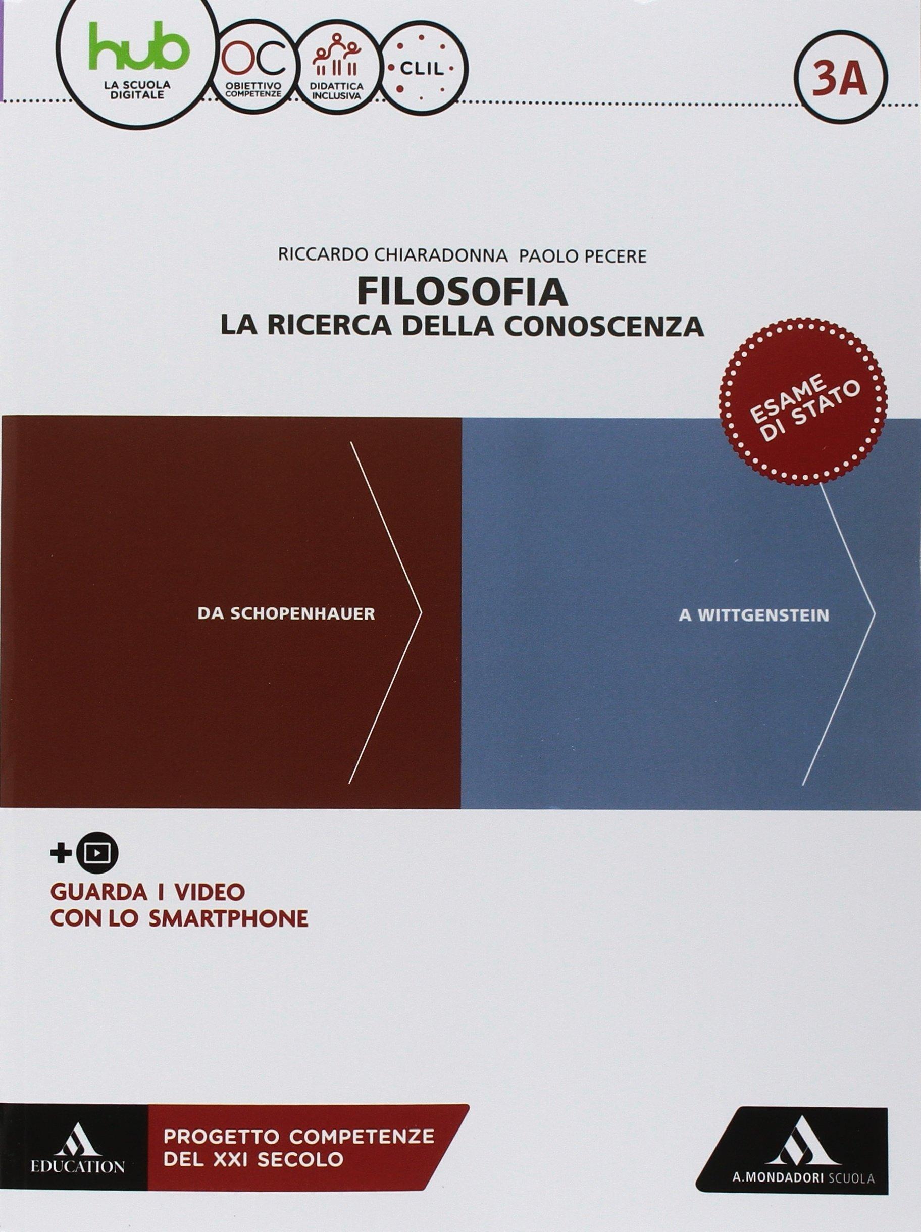 Con Libro: Filosofia per tutti: 3A-3B: Amazon.es: Riccardo Chiaradonna, Paolo Pecere: Libros en idiomas extranjeros