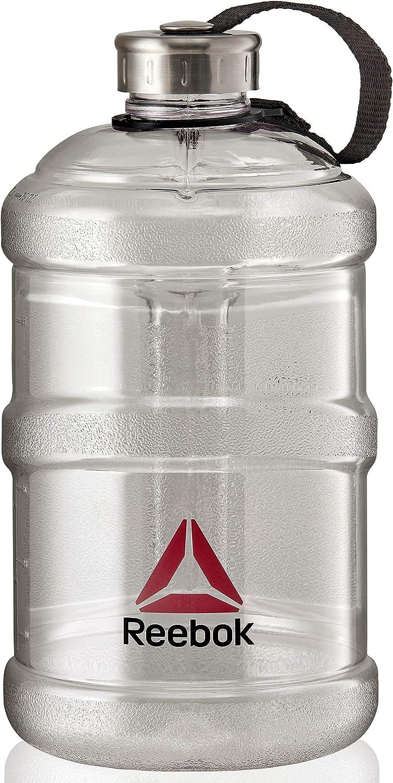 Reebok Botella de Agua 2.2 L, Transparente