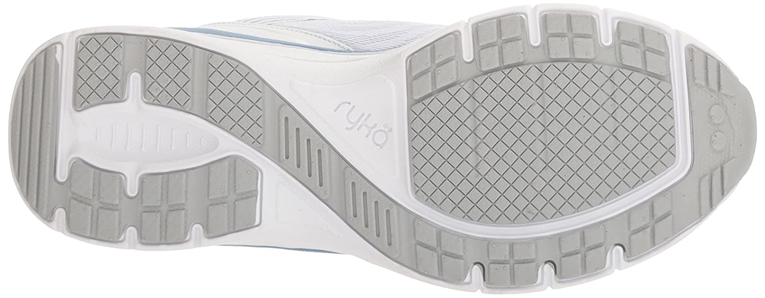 Ryka Walking-Schuhes Damens's Regina Walking-Schuhes Ryka Weiß/Blau/Silver a18238