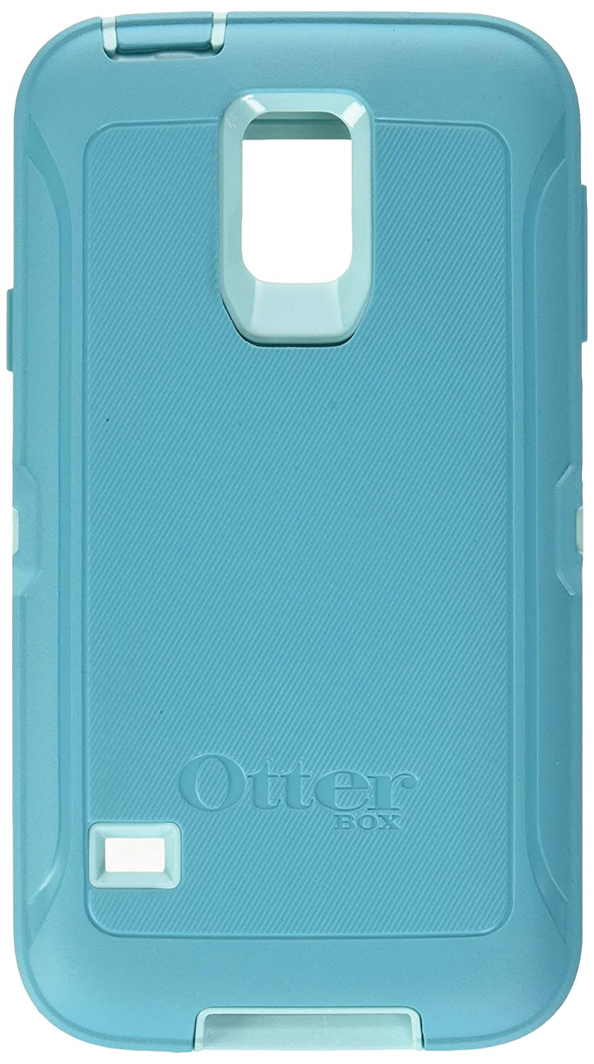 Rugged Protection Otterbox DEFENDER SERIES Case for Samsung Galaxy S5 - Bulk Packaging - (AQUA BLUE/LIGHT TEAL)
