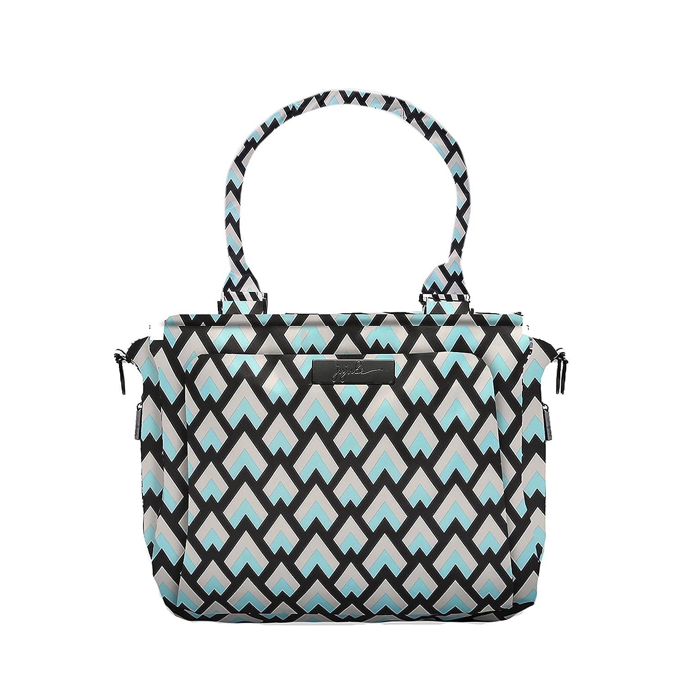 Ju-Ju-Be Onyx Collection Be Classy Structured Handbag Diaper Bag, Black Out 15FB01X BLO