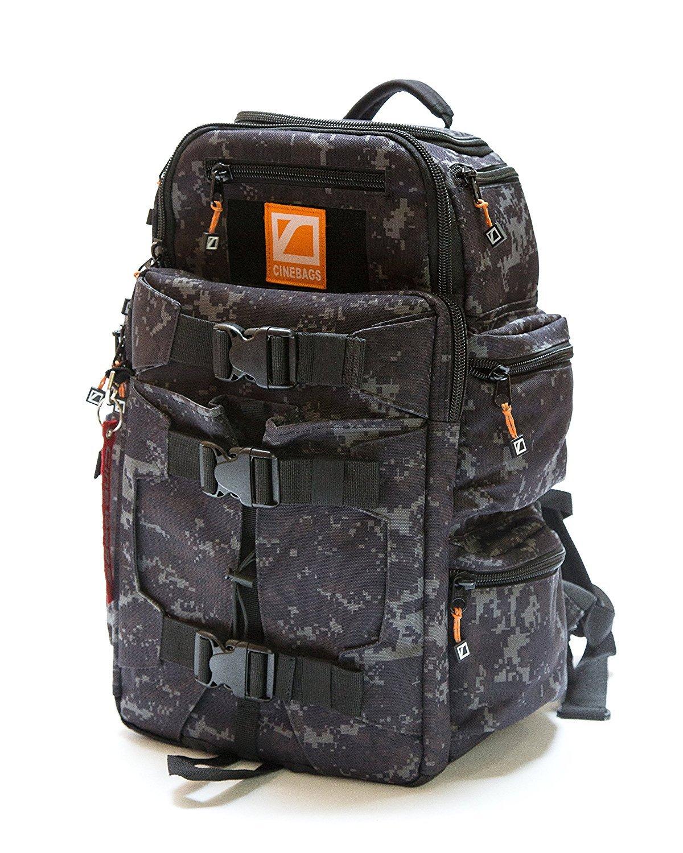 CineBags Tactical Camo Camera Backpack Case, Camouflage, Black (CB25 Revolution Backpack LTD) [並行輸入品]   B01M5BU5P6