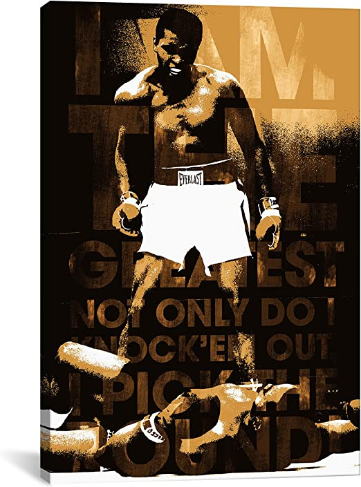Muhammad Ali Poster The Greatest Liston Quality Large FREE P+P CHOOSE YOUR SIZE!