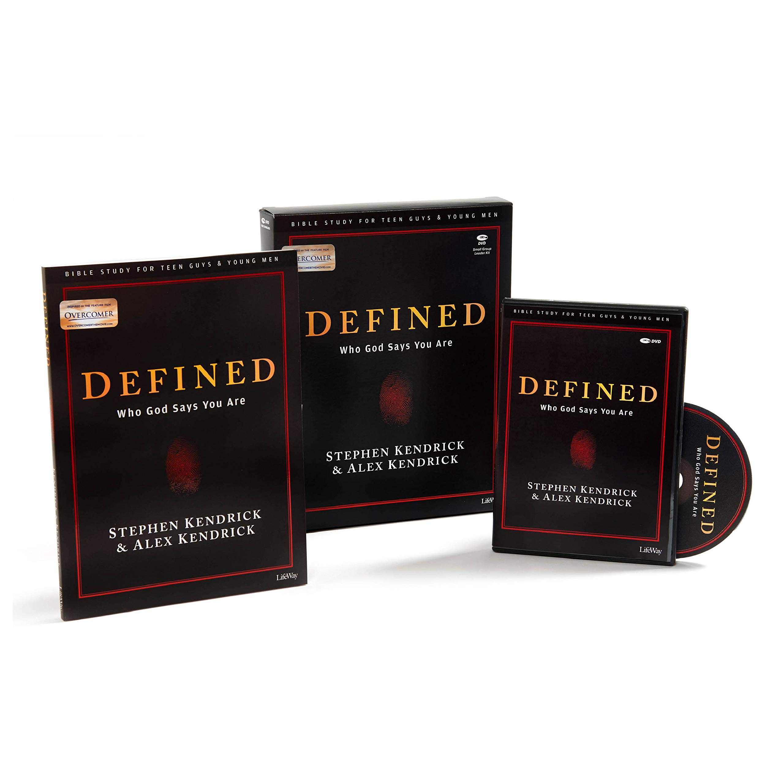 Defined – Teen Guys' Bible Study Leader Kit: Who God Says You Are