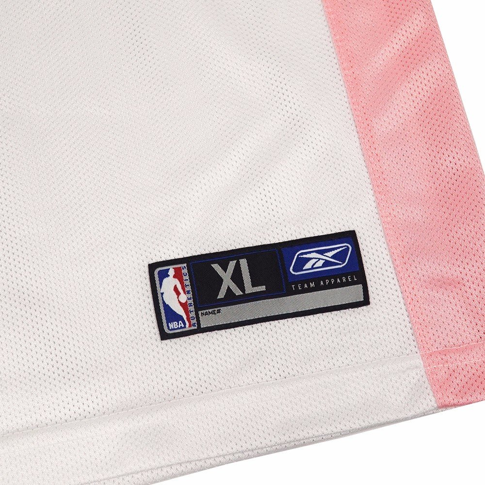 55358cf5c Amazon.com : adidas Dan Dickau Charlotte Hornets NBA White Official Fan  Fashion Pink Basketball Jersey Girls : Sports & Outdoors