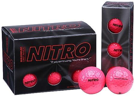 Nitro Maximum Distance Golf Ball 12-Pack