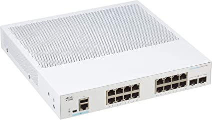 Cisco Systems Systems Business CBS350-16T-2G Managed: Amazon.de: Computers & Accessories