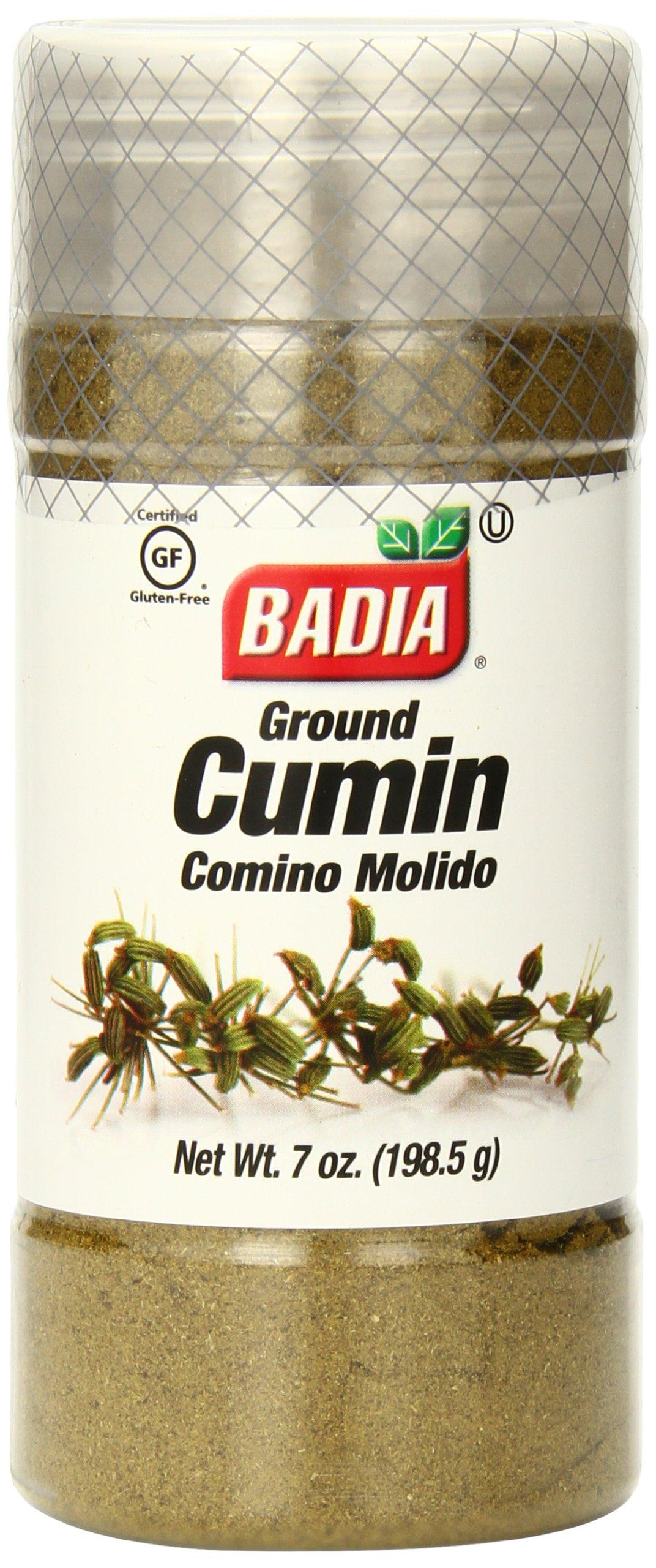Badia Cumin Ground, 7 Ounce (Pack of 12)