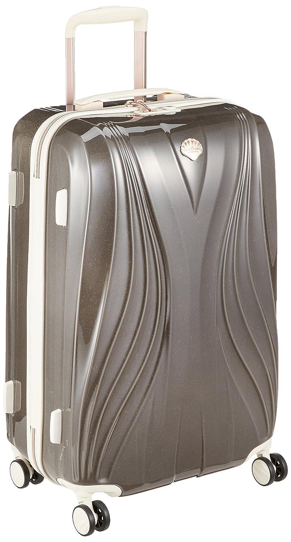 [レジェンドウォーカー] スーツケース 光に触れると反射で輝くPCスターライトを採用 保証付 63L 60 cm 3.9kg B078VR1LCZ パールグレー