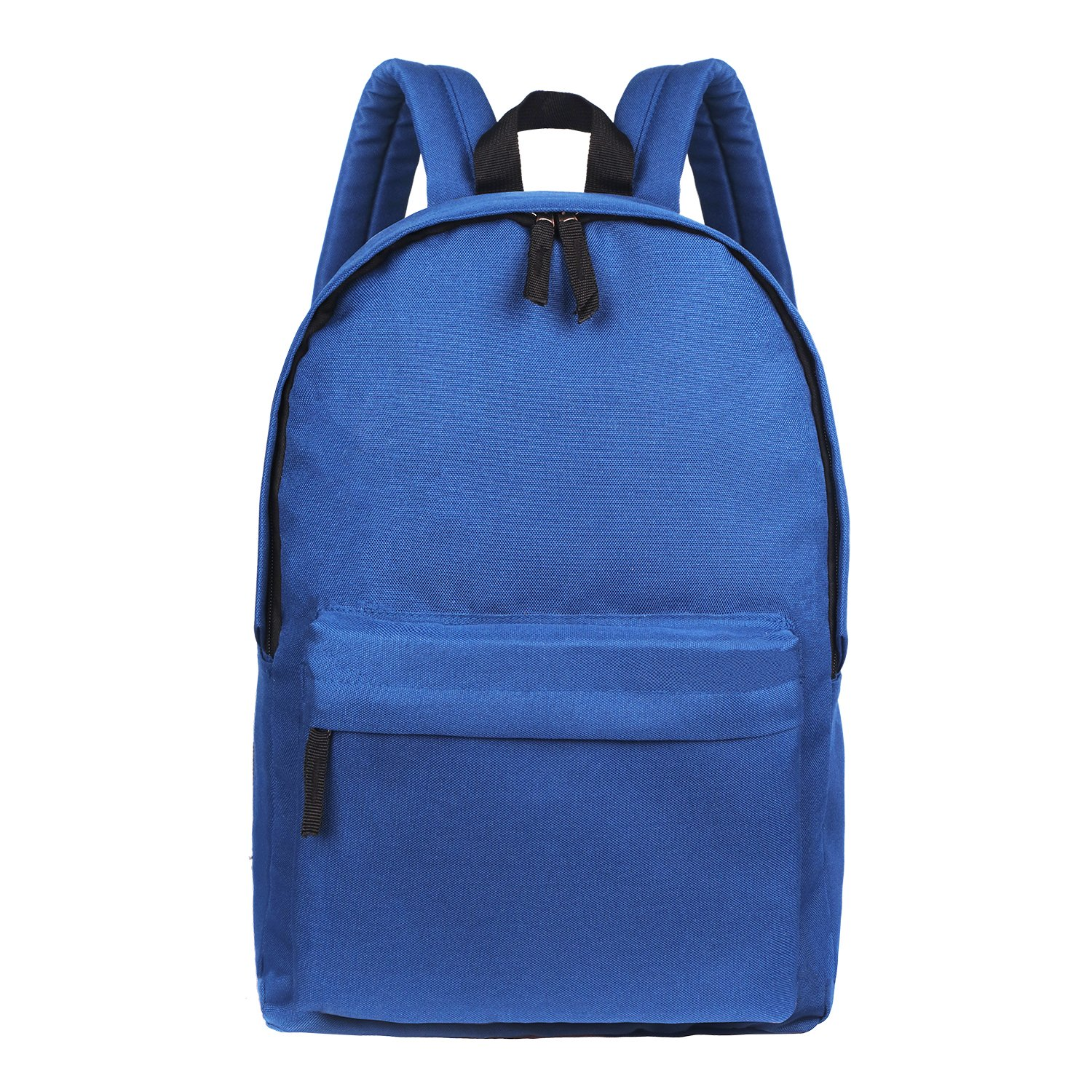 Blue Simple School Bag For Kid Lightweight Utility Elementary Backpack Organizer