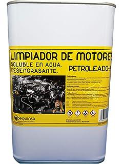 PEQUINSA Desengrasante Concentrado enérgico Biodegradable. Envase de 5 litros.: Amazon.es: Amazon.es