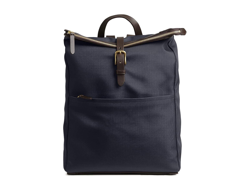 (ミスモ) Mismo EXPRESS Bag -旅行バッグ  NAVY/DARK BROWN 書類ビジネスファッションバックパックバッグ(並行輸入品) B07H35HWXW Navy/Dark Brown One Size