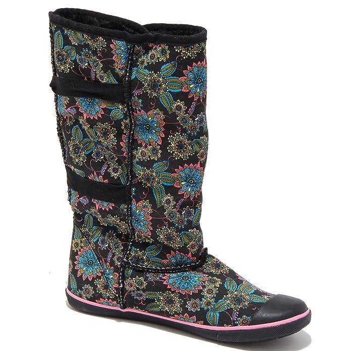 48f4e3fd38aab Sugar 0790M Stivali Donna Neri morigami rosarita Scarpe Boots Shoes Women   Amazon.it  Scarpe e borse