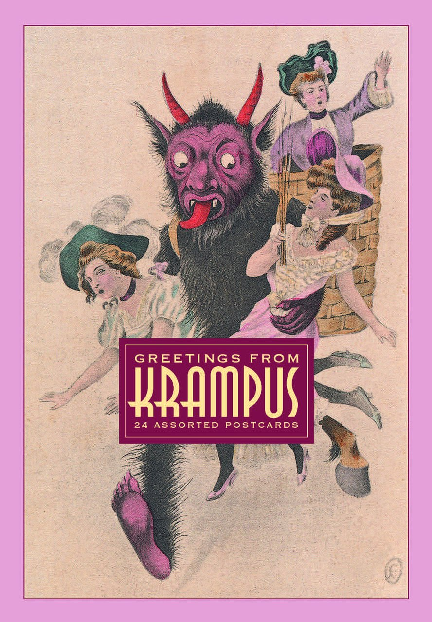 Greetings From Krampus 24 Assorted Postcards Monte Beauchamp