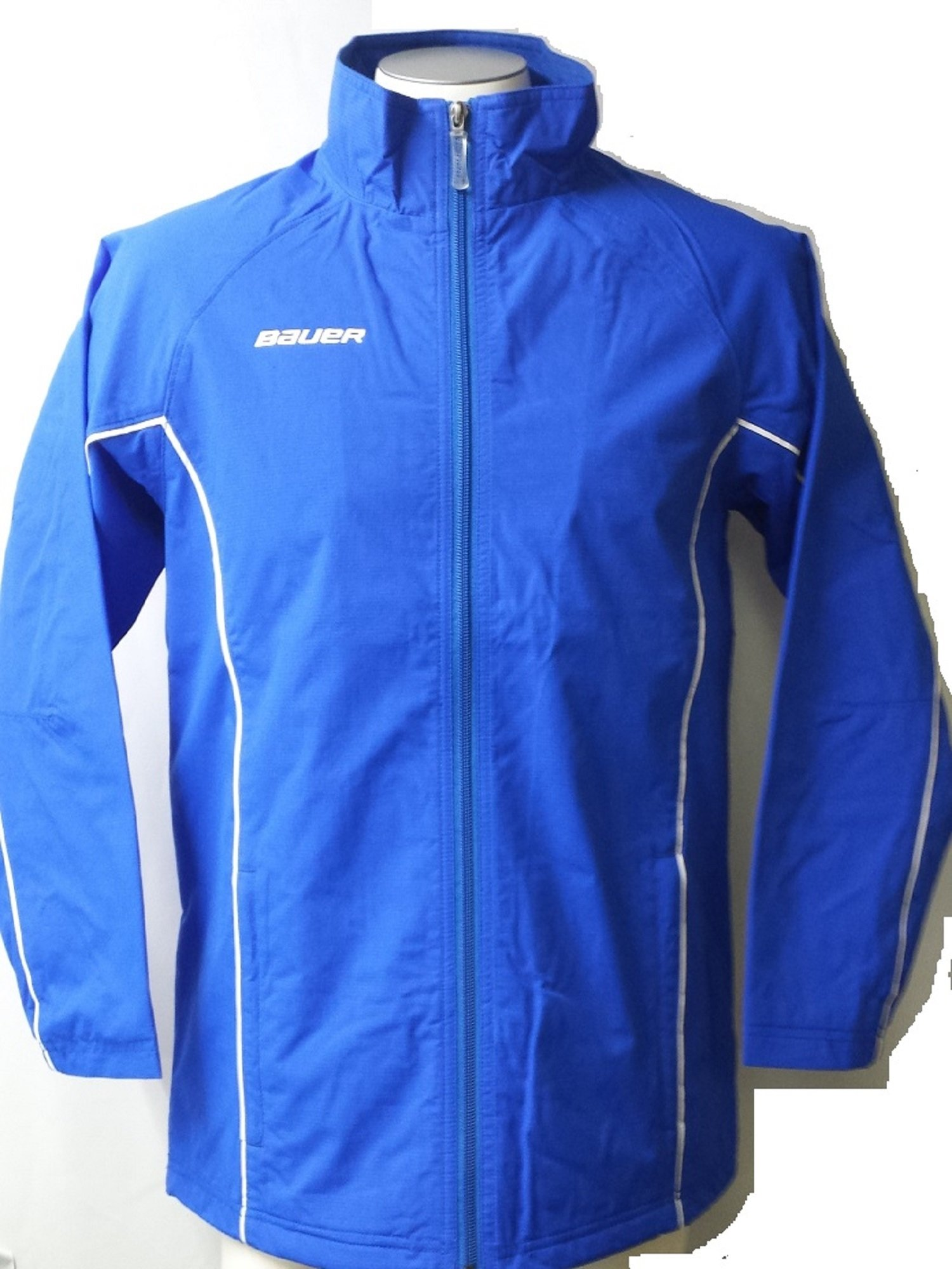 Bauer Youth Warm Up Jacket, Royal Small