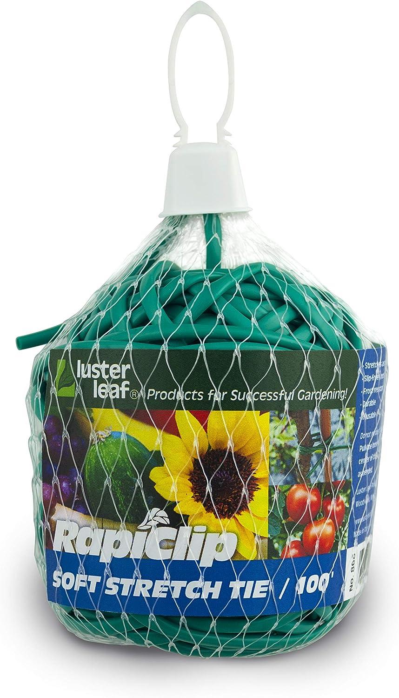 Luster Leaf 868 0868 Soft Stretch Tie, 100', Green
