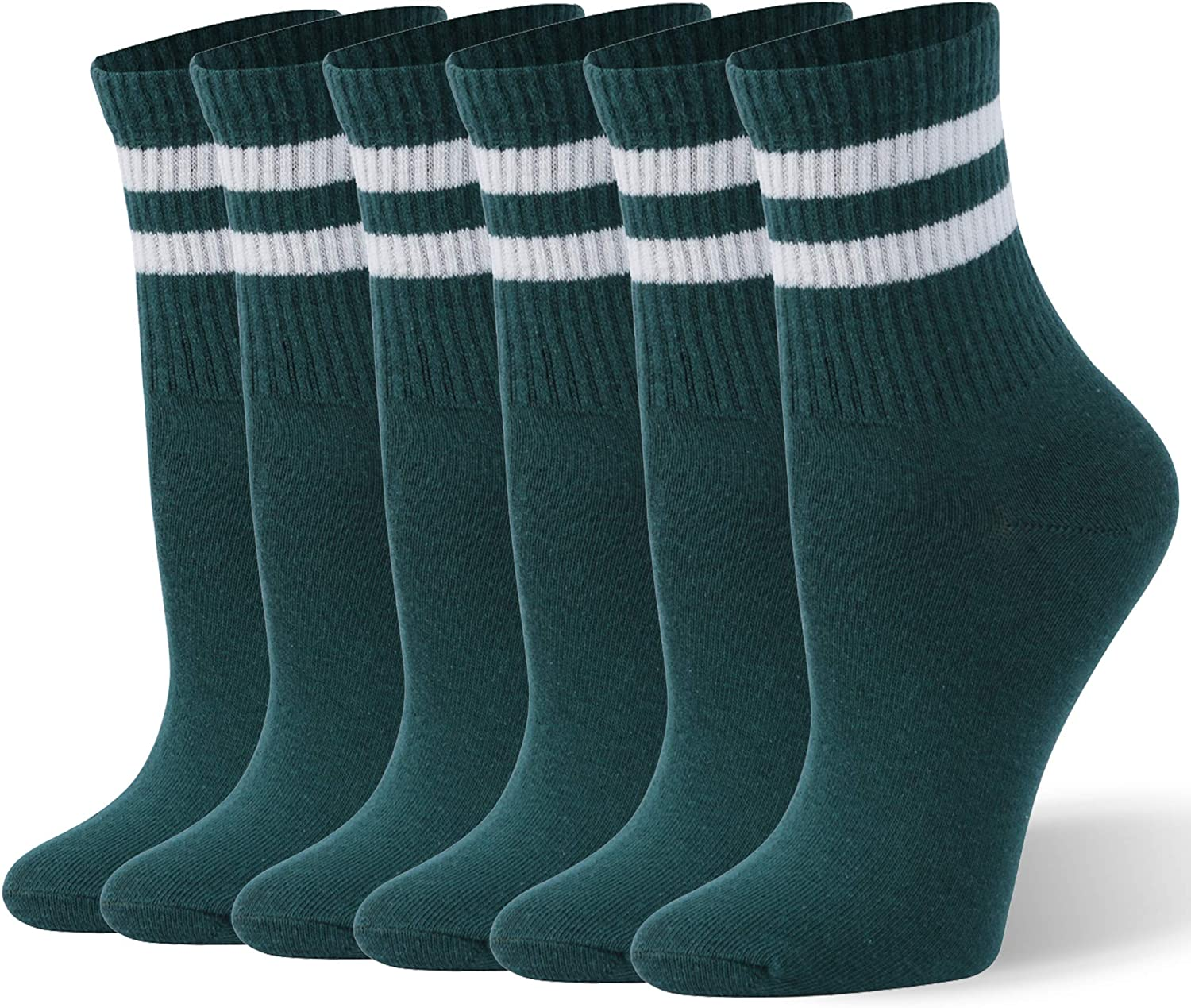 WXXM Casual Cotton Athletic Socks For Men /& Women Thin Breathable Running Socks Multicolor 3//6 pack