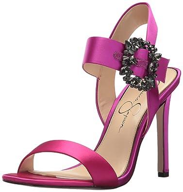 Jessica Simpson Bindy Heeled Sandal (Women's) 3VZOkoo