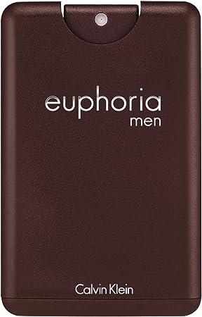 Calvin Klein Euphoria Men, Eau de Toilette para hombres, tamaño de viaje, 20 ml: Amazon.es: Belleza