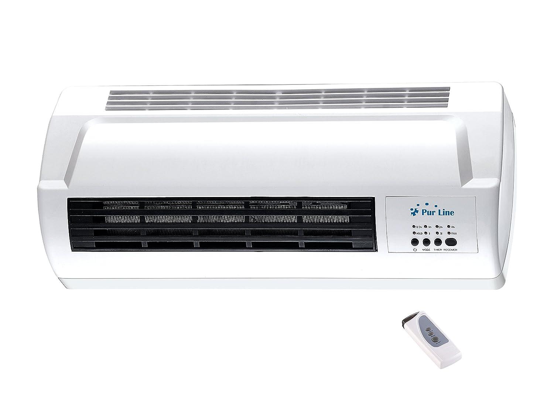 Acquisto Riscaldatore elettrico da parete Potenza Regolabile 2000W con telecomando HOTI M50 Purline Prezzi offerte
