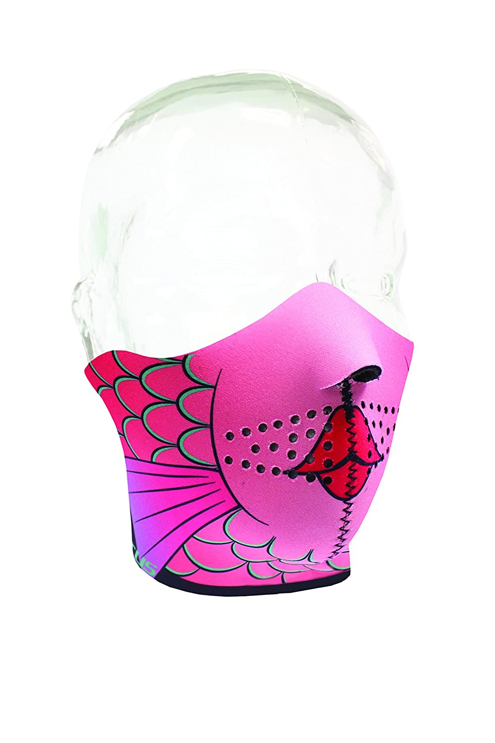 Seirus Innovation Girls Jr Comfort Masque, Girly Fish, One Size 6804