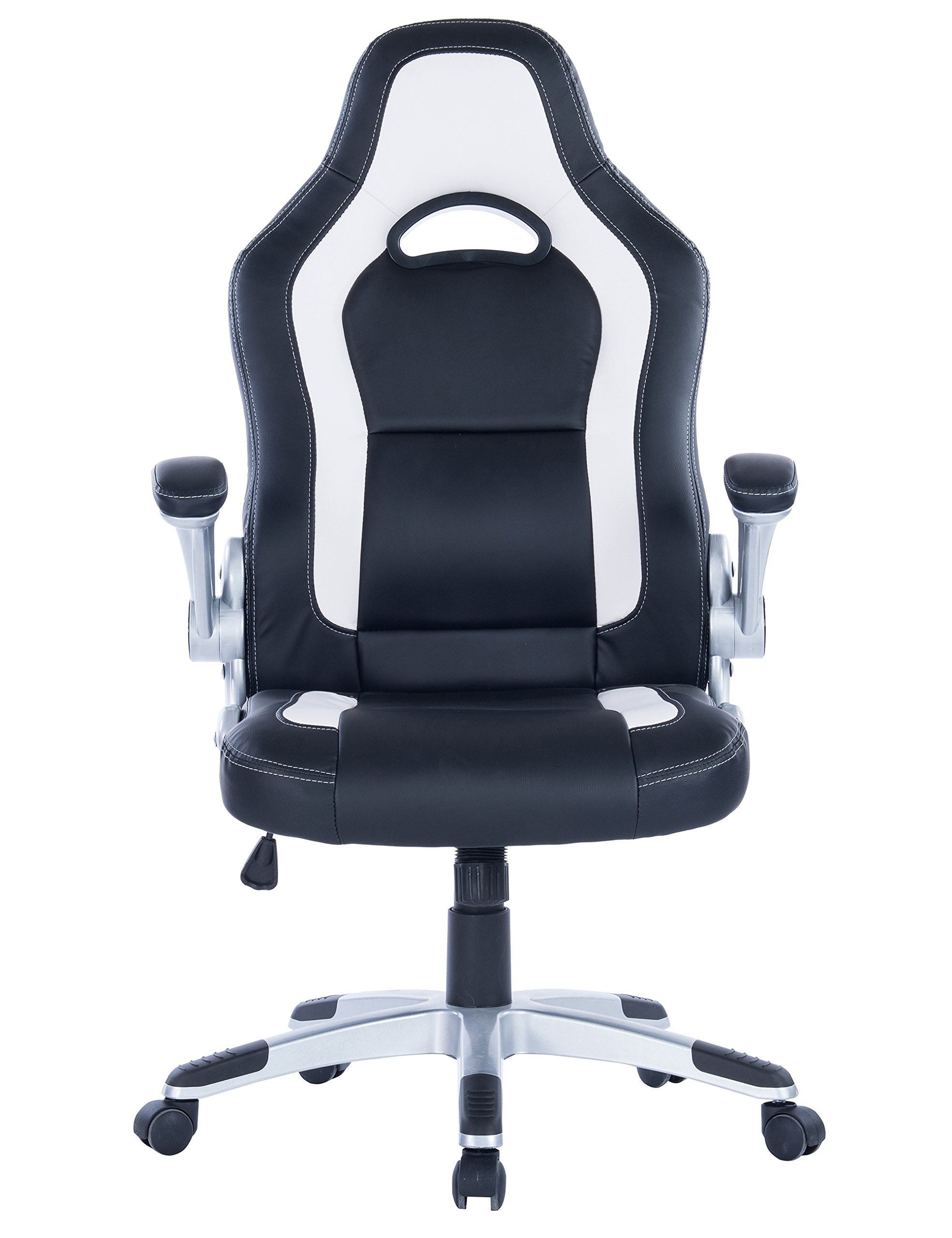 Killbee Ergonomic Swivel Executive Office Gaming Adjustable Chair, High-Back Upholstered PU Leather Desk Chair by Killbee