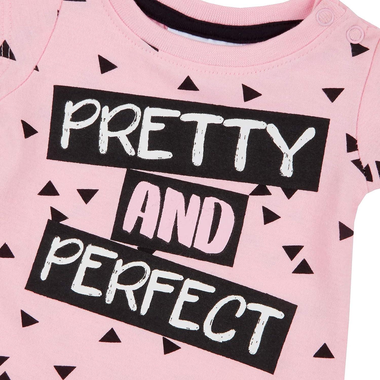 Leggings Matching Outfit 2Pcs Set Pink Lora Dora Baby Girls Cotton T-Shirt Tunic