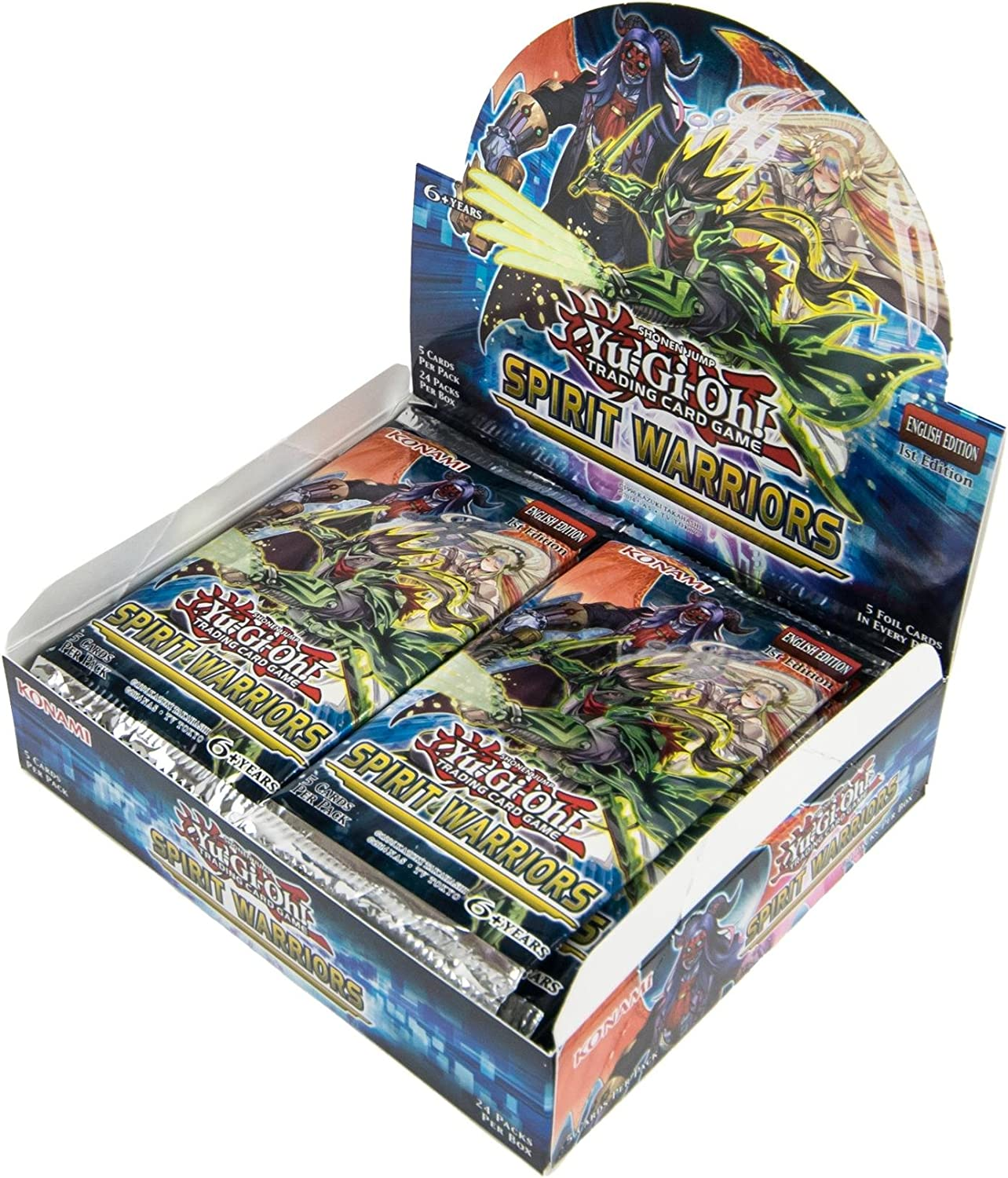 Amazon.com: Yu-Gi-Oh! CCG Spirit Warriors Booster - Caja ...