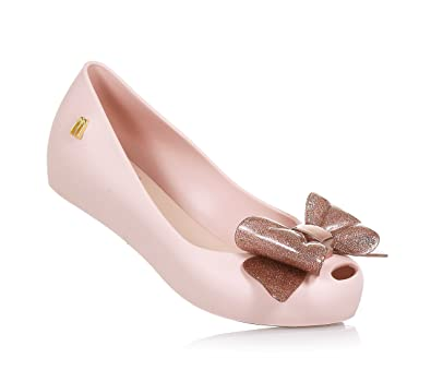 83dbab4c357e Mini Melissa Kids Ultragirl Sweet Bow Glitter  Amazon.co.uk  Shoes ...
