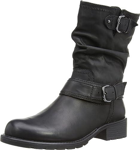Clarks Women's Orinocco Jive Boots, Black (Black Leather