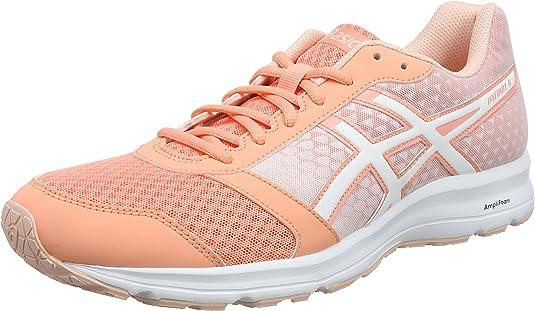 Asics Patriot 9, Zapatillas de Running para Mujer, Rosa (Begonia Pink/White/Seashell Pink 0601), 44.5 EU: Amazon.es: Zapatos y complementos