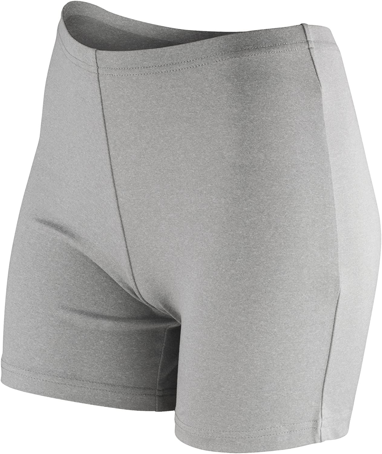 Spiro Softex Womens Fitness Athletic Shorts 3 Colours Black 2XL