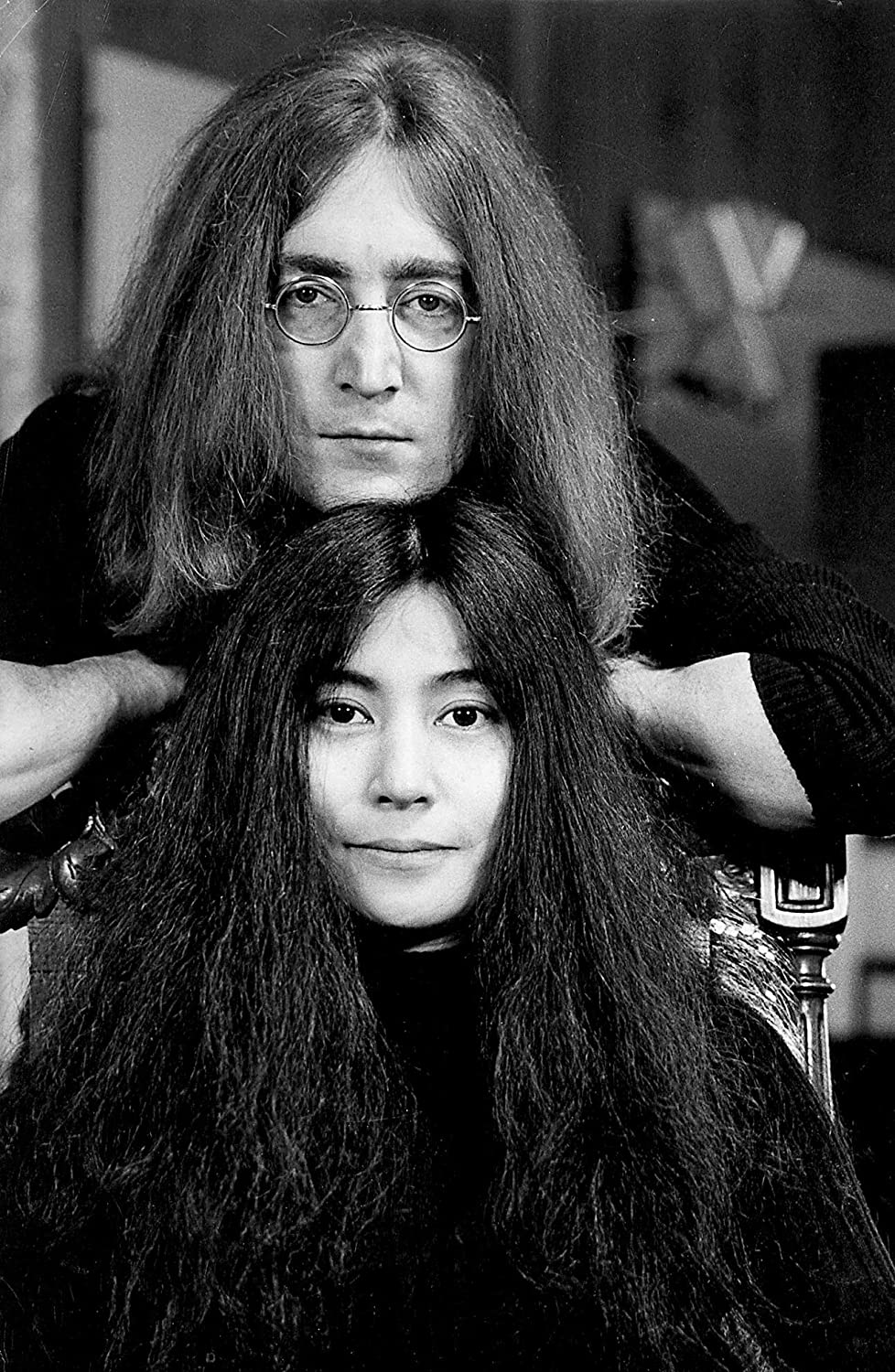 Amazon Com Celebrity Vault John Lennon And Yoko Ono An Archival Print 20 X 16 Posters Prints
